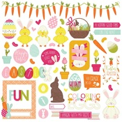 Hoppy Easter Element Stickers - Photoplay