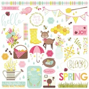 Bloom Element Stickers - Photoplay