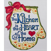 "11""X13"" 14 Count - Heart Of The Home Counted Cross Stitch Kit"