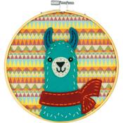 Llama DIY Felt Applique Kit