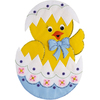 Easter Chick Wall Hanging Felt Applique Kit