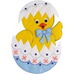 Easter Chick Wall Hanging Felt Applique Kit