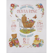 Sweet Baby Birth Record Counted Cross Stitch Kit