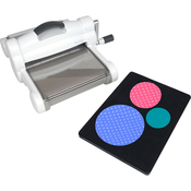 White & Gray - Sizzix Big Shot Fabric Series Starter Kit