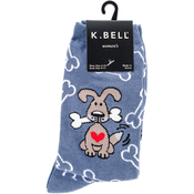 Dog With Bones Novelty Pet Socks