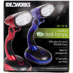 Red And Blue - LED Desk Lamps