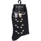 Catwalk - Black - Novelty Pet Socks