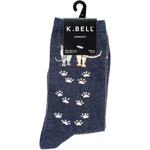 Catwalk Denim - Novelty Pet Socks