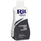 Charcoal Grey - Rit Dye Liquid 8oz