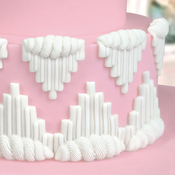 Serrated V's - Katy Sue Designs Cake Mold