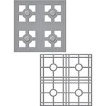 Layered Tile - Spellbinders Shapeabilities Dies