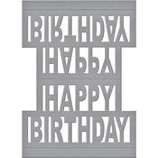 Happy Birthday Pop Up - Spellbinders Shapeabilities Dies