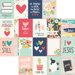 """3""""X4"""" Journaling Cards - Faith - Simple Stories"""