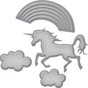 Unicorn Fantasy - Spellbinders Shapeabilities Die D-Lites