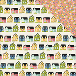 Home Sweet Home Paper - Domestic Bliss - Simple Stories