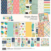 Domestic Bliss - Simple Stories Collection Kit