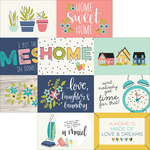 4x6 Horizontal Elements - Domestic Bliss - Simple Stories