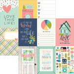 4x6 Vertical Elements - Domestic Bliss - Simple Stories