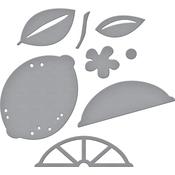 Make Mine Lemon Lime - Spellbinders Shapeabilities Dies