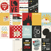 3'X4' Journaling Cards Paper - Say Cheese III - Simple Stories