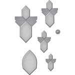 Angled Flower Fold 'n Go - Spellbinders Shapeabilities Dies