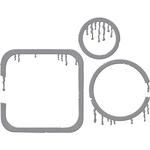 Drip Dry - Spellbinders Shapeabilities Dies