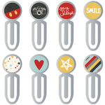 Epoxy Top Metal Clips - Say Cheese III - Simple Stories