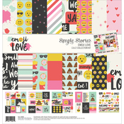 Emoji Love - Simple Stories Collection Kit
