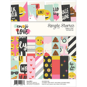 Emoji Love - Simple Stories Double-Sided Paper Pad