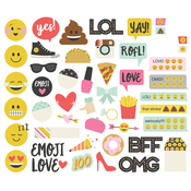 Emoji Love Bits & Pieces - Simple Stories