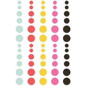 Emoji Love Enamel Dots Embellishments - Simple Stories