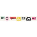Expressions! - Emoji Love Washi Tape - Simple Stories