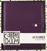 Grape - Carpe Diem Empty A5 Planner - Simple Stories