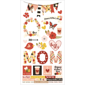 "Simple Sets Mother's Day Cardstock Stickers 6""X12"""