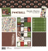 Football - Simple Stories Simple Sets Collection Kit