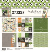 Soccer - Simple Stories Simple Sets Collection Kit