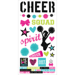 "Simple Sets Cheer Cardstock Stickers 6""X12"""
