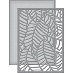 Banana Leaf Card Front - Spellbinders Shapeabilities Dies