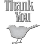 Thank You - Spellbinders Shapeabilities Die D-Lites