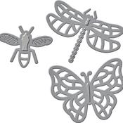 Flying Bugs - Spellbinders Shapeabilities Die D-Lites