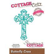 """Butterfly Cross, 1.9""""X3"""" - CottageCutz Elites Die"""