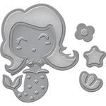 Build-A-Mermaid - Spellbinders Shapeabilities Die D-Lites
