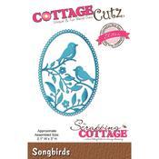 """Songbirds, 2.1""""X3"""" - CottageCutz Elites Die"""