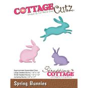 "Spring Bunnies, 1.2"" To 2.2"" - CottageCutz Die"