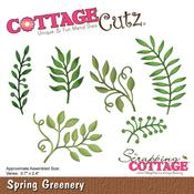 "Spring Greenery, 0.7"" To 2.4"" - CottageCutz Die"