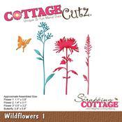 """Wildflowers 1, 0.8"""" To 3.2"""" - CottageCutz Die"""