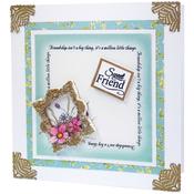 Miniature Frames Vintage Square - Katy Sue Designs Cake Mold