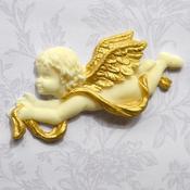 Ornamental Cherubs - Katy Sue Designs Cake Mold