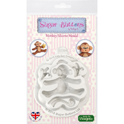 Monkey - Katy Sue Designs Sugar Buttons Character Mold