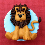 Lion - Katy Sue Designs Sugar Buttons Character Mold